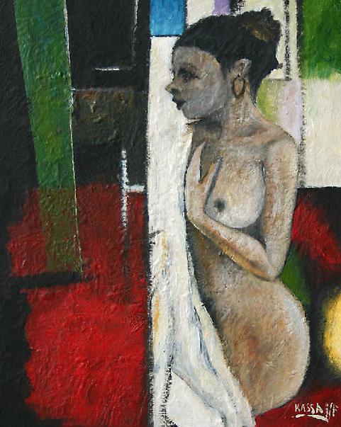 Kassa MFOUBOU, le peintre Gabono-poitevin