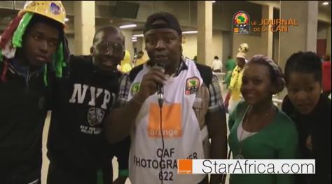 Coupe d'Afrique des Nation Afcon2013,Plateau Jacky Moiffo par JMTVPLUS(JMTV+)