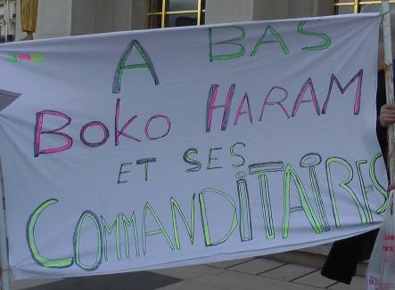 Terrorisme: Manifestation contre Boko Haram à Paris