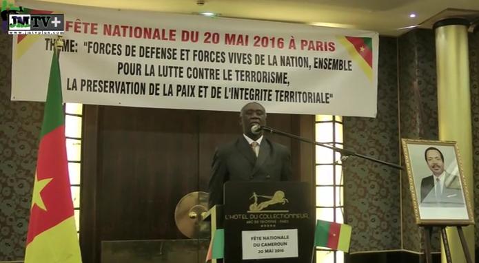 Cameroun en Fête;le Discours de S.E Samuel Mvondo Ayolo lors de la soirée de Gala