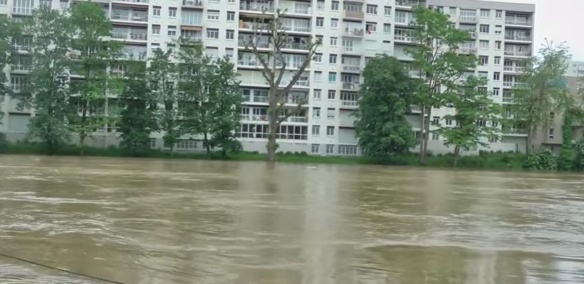 FRANCE: Inondation à Paris – Villeneuve-la-Garenne