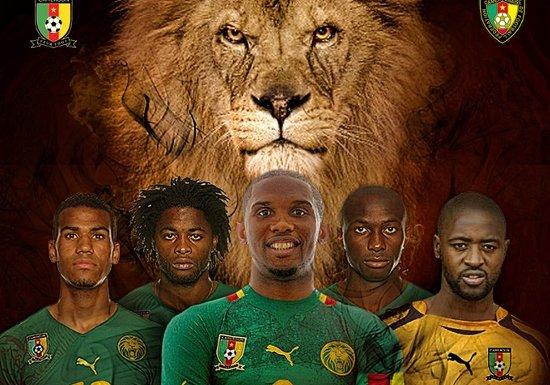 LIONS INDOMPTABLES DU CAMEROUN: souvenir,souvenir 2010 (1ère Partie)