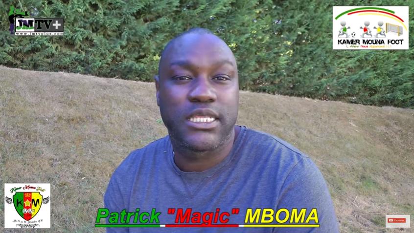 Patrick MBOMA confirme son parrainage de Kamer Mouna Foot