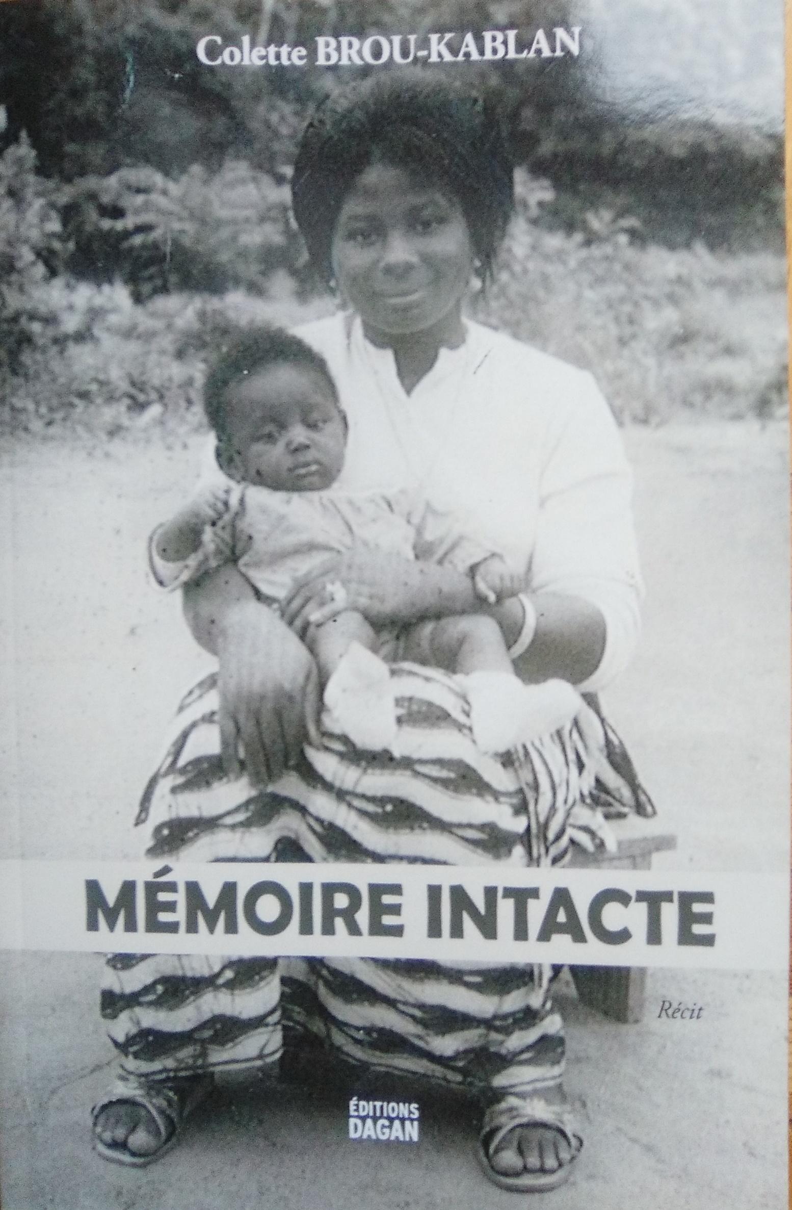 LITTÉRATURE: Colette BROU-KABLAN vous présente «MÉMOIRE INTACTE», son autobiographie (JMTV+)