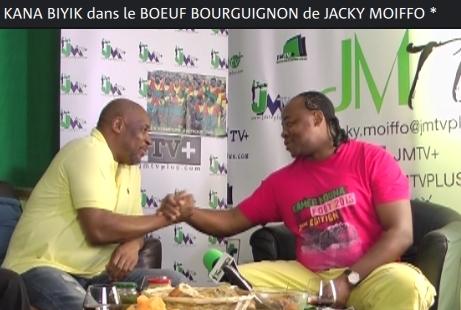 ANDRÉ KANA-BIYIK dans «le BŒUF BOURGUIGNON de JACKY MOIFFO» 1ère Partie (JMTV+)