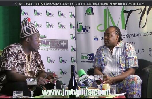 PRINCE PATRICE & FRANCOISE DANS «Le BŒUF-BOURGUIGNON de JACKY MOIFFO» (JMTV+)