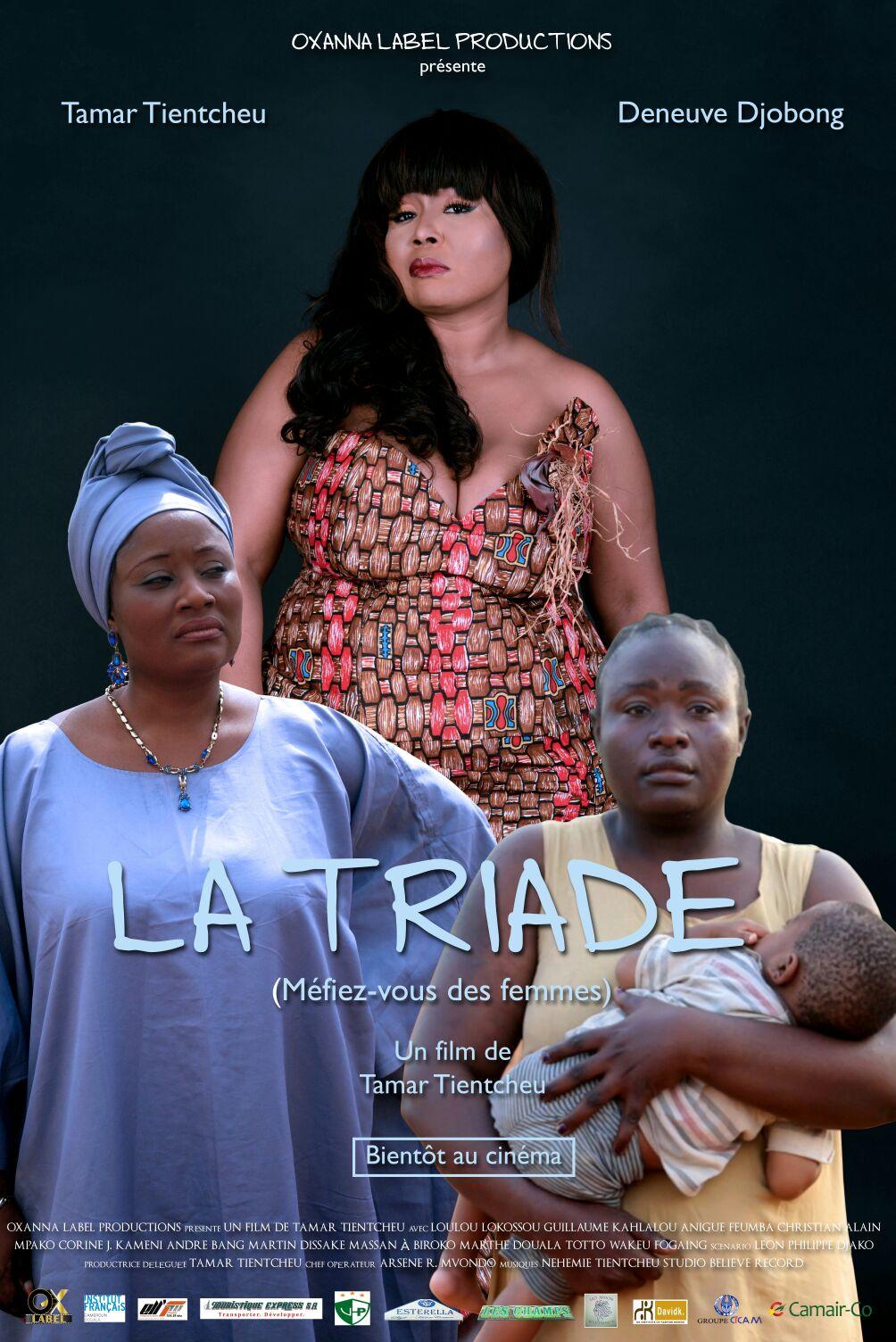 CINÉMA AFRICAIN: TAMAR TIENTCHEU PRÉSENTE «LA TRIADE», SON NOUVEAU FILM (JMTV+)