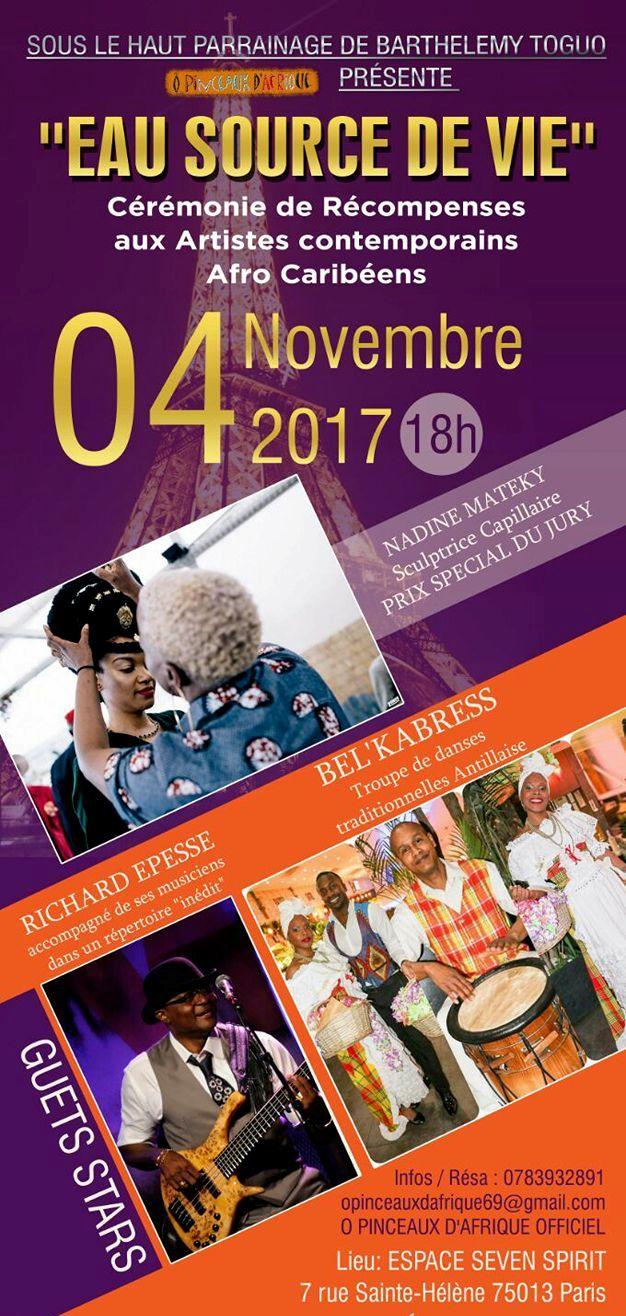 RÉCOMPENSES DÉDIÉES AUX ARTISTES AFRO-CARIBEENS (JMTV+)