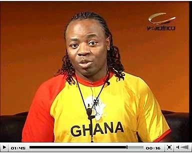 CAN GHANA2008: JACKY MOIFFO SUR VOX-AFRICA,SOUVENIR,SOUVENIR