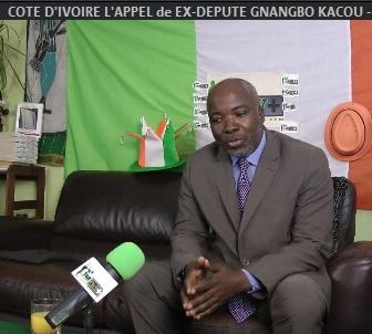 COTE D'IVOIRE: L'APPEL de EX-DÉPUTÉ GNANGBO KACOU POUR LE PARDON (JMTV+)