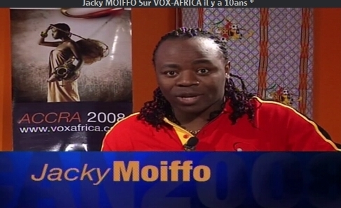 COUPE D'AFRIQUE des NATIONS 2008:Jacky MOIFFO Sur VOX-AFRICA il y a 10ans