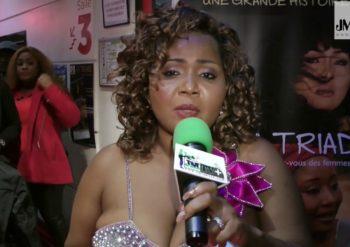 actrice et réalisatrice camerounaise Tamar Tientcheu