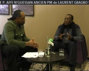 COTE d'IVOIRE: Pascal AFFI N'GUESSAN,ANCIEN PM de LAURENT GBAGBO, SE LÂCHE. (JMTV+)