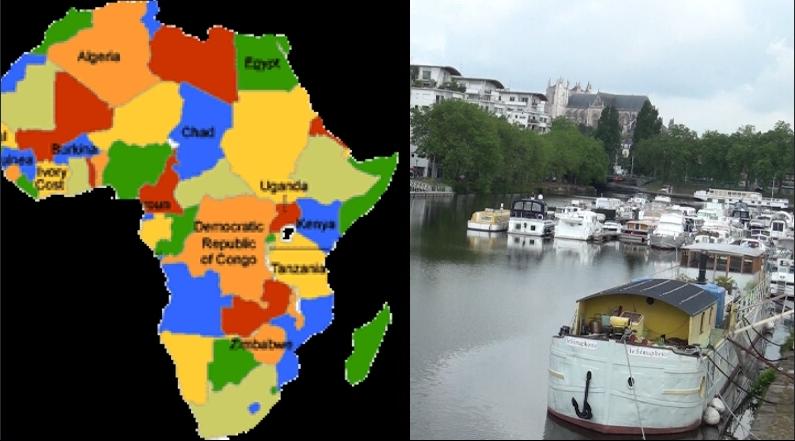 NANTES:KILIMANDJARO &  MVOG MBI,un BOUT du CAMEROUN & D'AFRIQUE au BORD de la LOIRE (JMTV+)