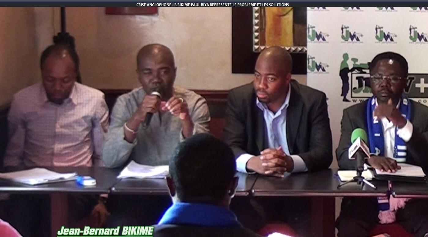 CRISE ANGLOPHONE: «PAUL BIYA REPRÉSENTE LE PROBLÈME ET LES SOLUTIONS»/Jean-Bernard BIKIME(JMTV+)