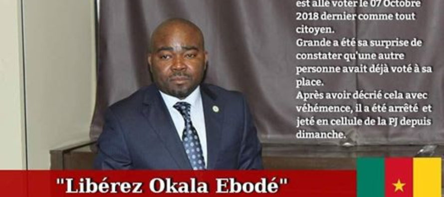 POURQUOI ERIC MOUMIE & OKALA EBODE SONT-ILS RETENUS PRISONNIERS AU CAMEROUN?