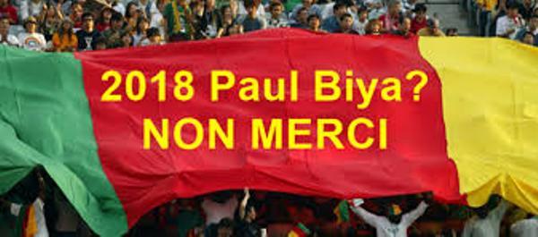 MANIFESTATION DE LA DIASPORA CAMEROUNAISE DE PARIS: «NON AU HOLD-UP ÉLECTORAL»