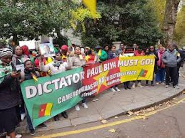 MANIFESTATION de la DIASPORA CAMEROUNAISE DU 18 Nov 2018 à PARIS, Vol 1