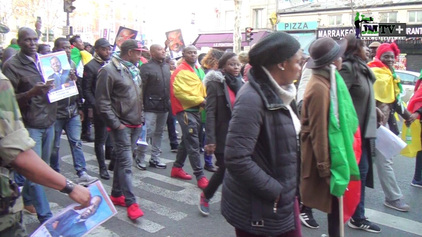 MANIFESTATION DES CAMEROUNAIS à PARIS: «C'EST LE SYSTÈME QUE NOUS COMBATTONS»