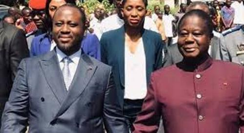 CÔTE D'IVOIRE: VISITE DE GUILLAUME SORO à HENRI KONAN BEDIE 1er PAS VERS UNE ALLIANCE