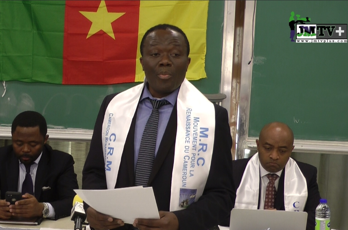 MRC MONTRÉAL: DISCOURS D'INVESTITURE DE MAURICE NGUEPE