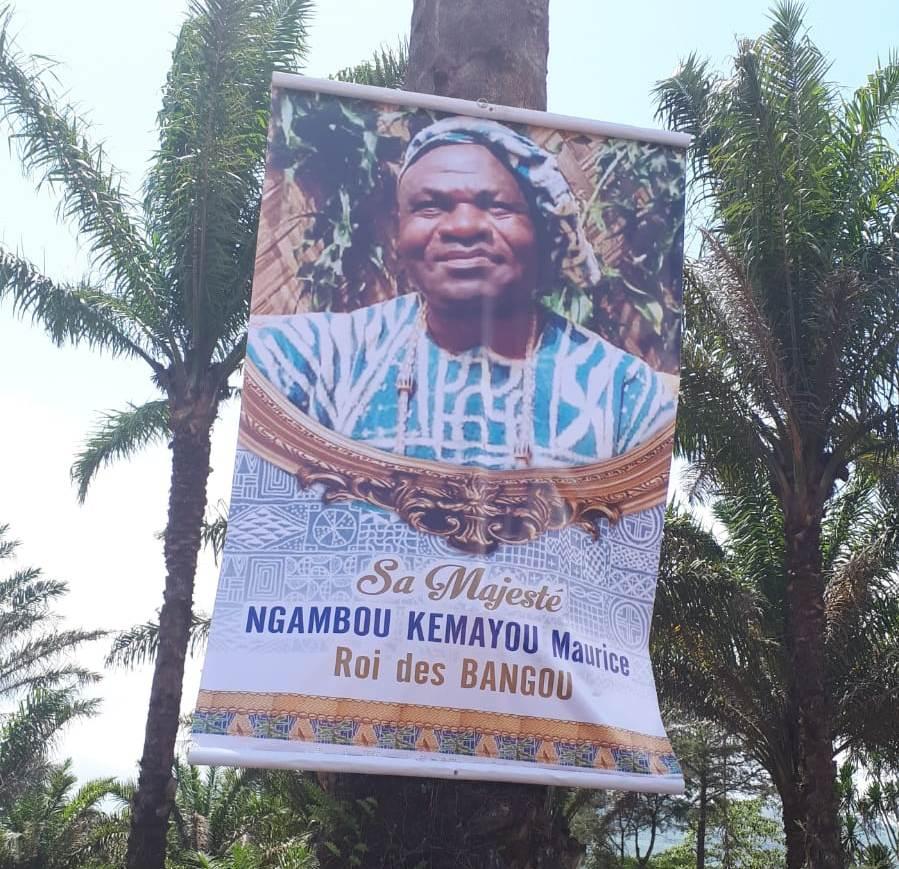 BANGOU: UNE CHANSON à LA GLOIRE de S.M MAURICE NGAMBOU NOUVEAU ROI