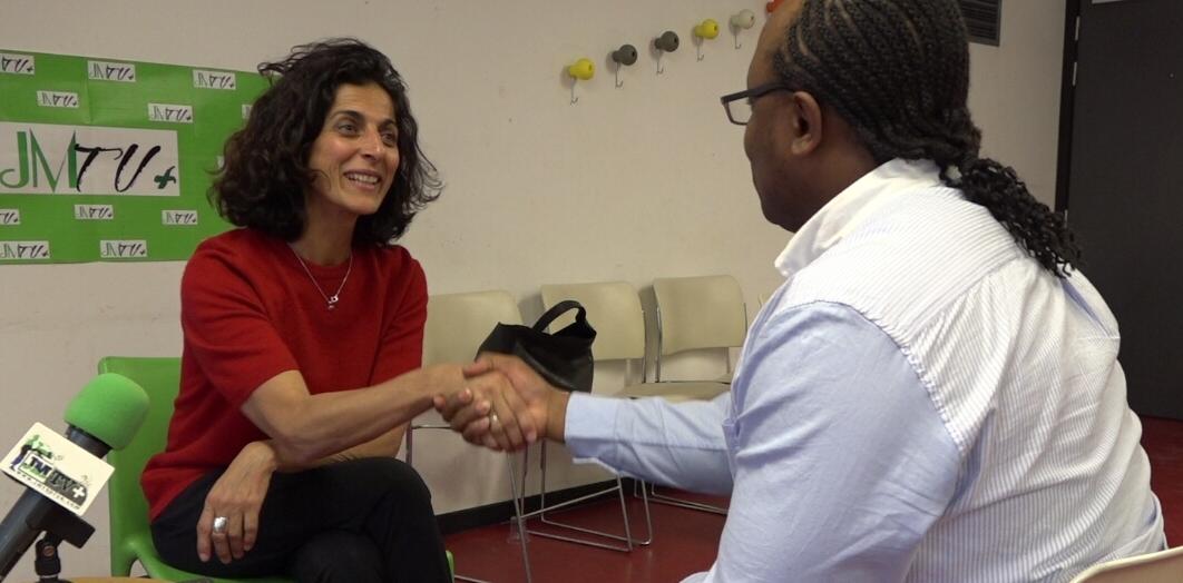 MARIA ARENA:»LA FRANCE NE DOIT PAS ÊTRE UN ACTEUR DE BLOCAGE PAR RAPPORT A UNE SITUATION»