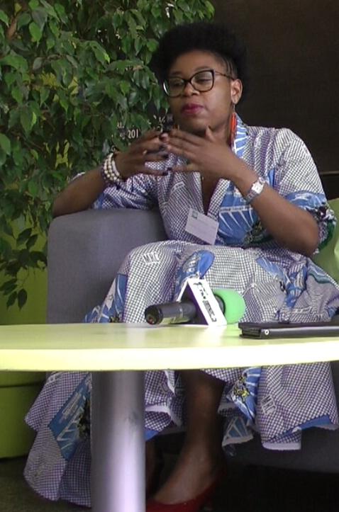 EDWIGE NGUEKO:»MON COMBAT N'A RIEN A VOIR AVEC MAURICE KAMTO,JE ME BATS POUR MON CAMEROUN»