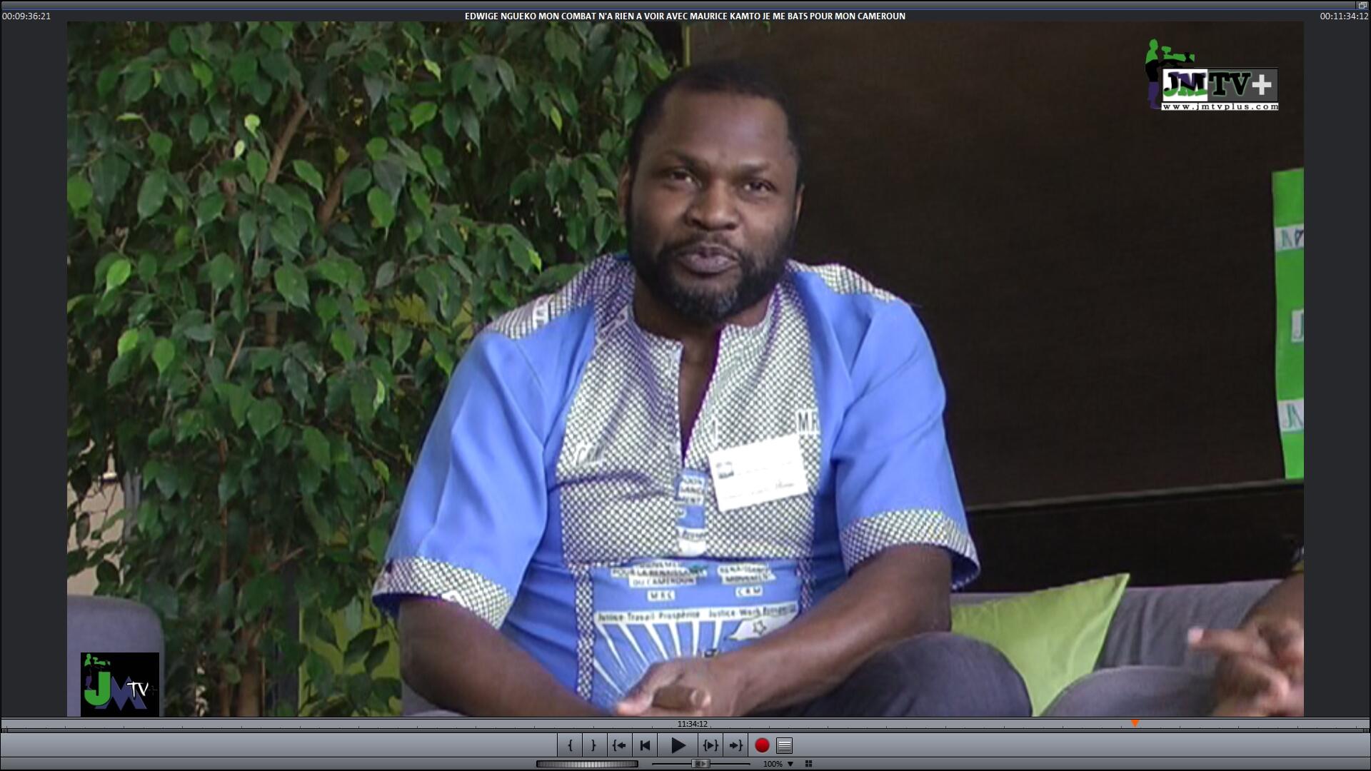 «NOUS CHERCHONS A REDONNER AUX CAMEROUNAIS LEURS DROITS»: NGAN NGAN, Sec.  Dép. MRC ALLEMAGNE