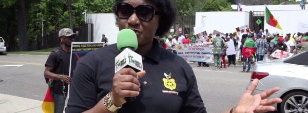 B.A.S/USA: MICHELINE TALK TO HER PEOPLE IN PIGGIN