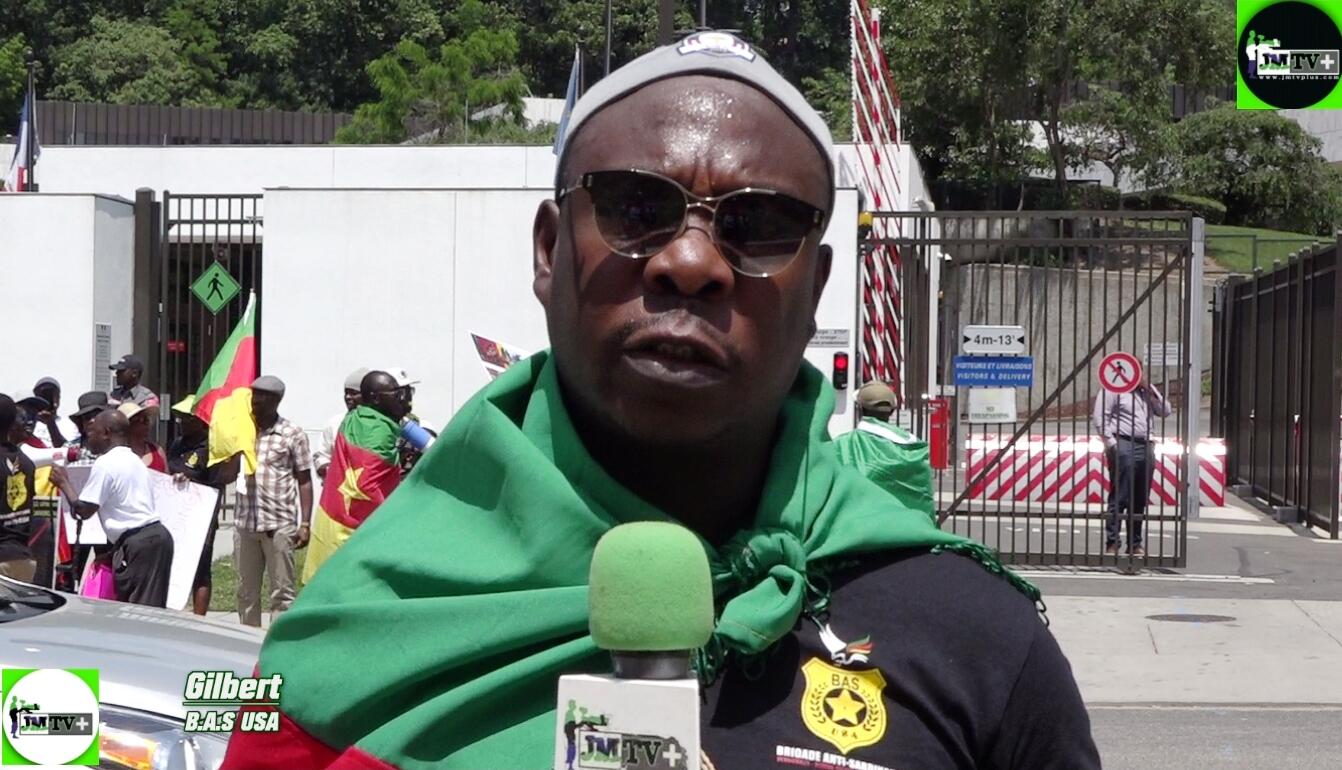B.A.S-USA/GILBERT:»LA FRANCE EST LA CAUSE DES MALHEURS AU CAMEROUN»