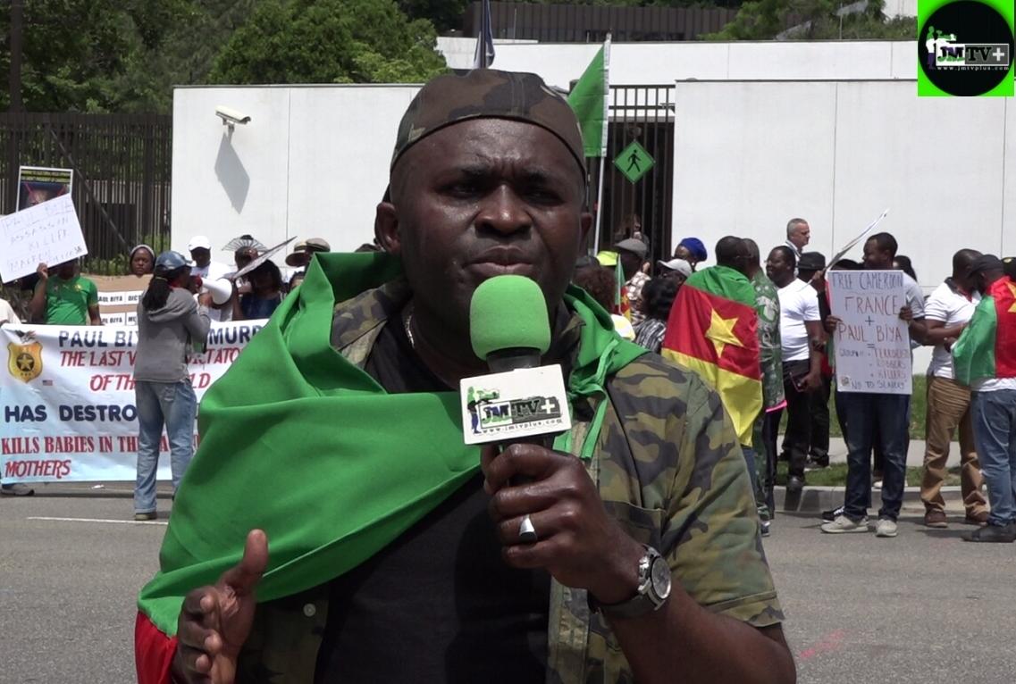 YVES-ALAIN:»NOUS SOMMES VENUS DEMANDER à LA FRANCE DE LIBÉRER L'AFRIQUE»