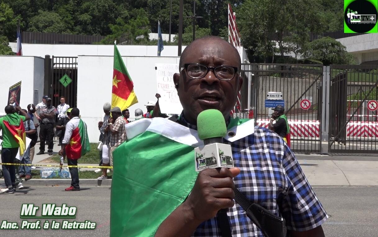 PROF. WABO:»NOUS CONTINUONS DE CROIRE QU'IL Y A DE BONS FRANÇAIS»