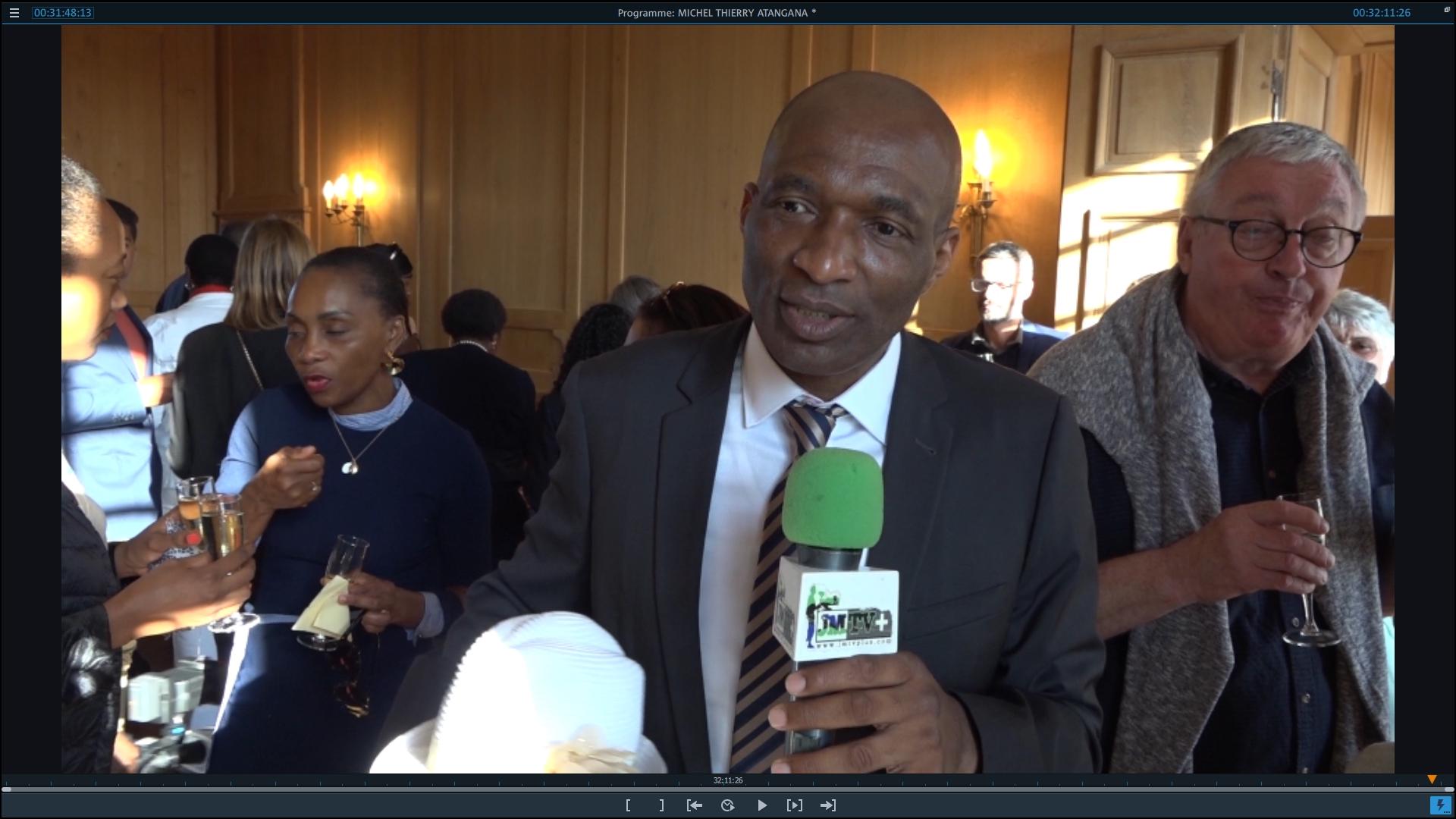 MICHEL THIERRY ATANGANA, CITOYEN D'HONNEUR de SAINT POL de LEON, 2ème Partie