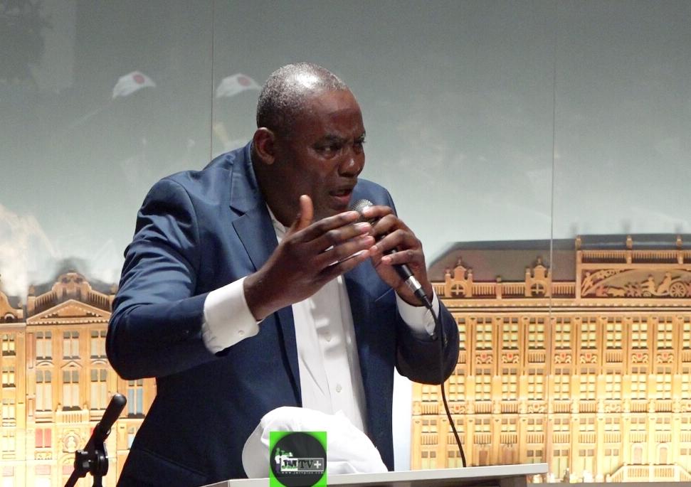 BERTRAND TCHAPWA-CONF de BRUXELLES:» FRU NDI est COMPLICE de BIYA»