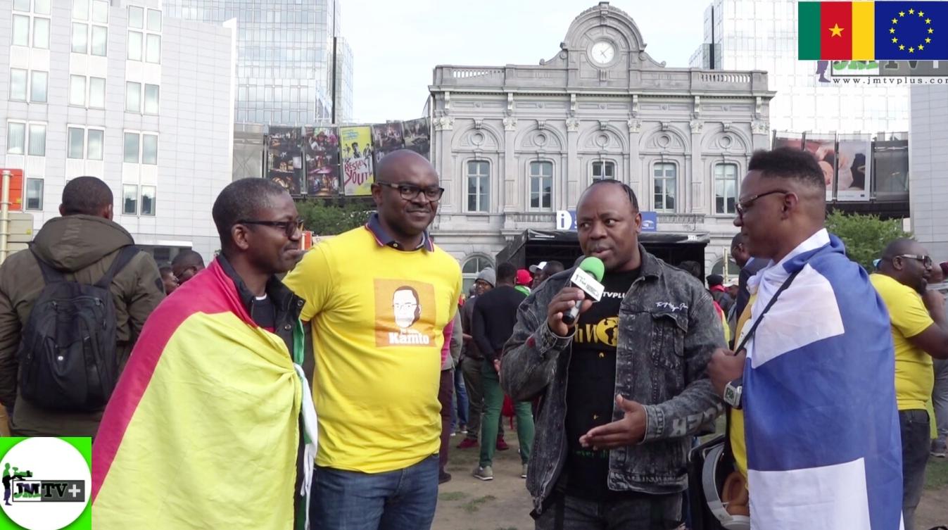 MANIFESTATION DES CAMEROUNAIS à BRUXELLES: LE SACRIFICE SCANDINAVE