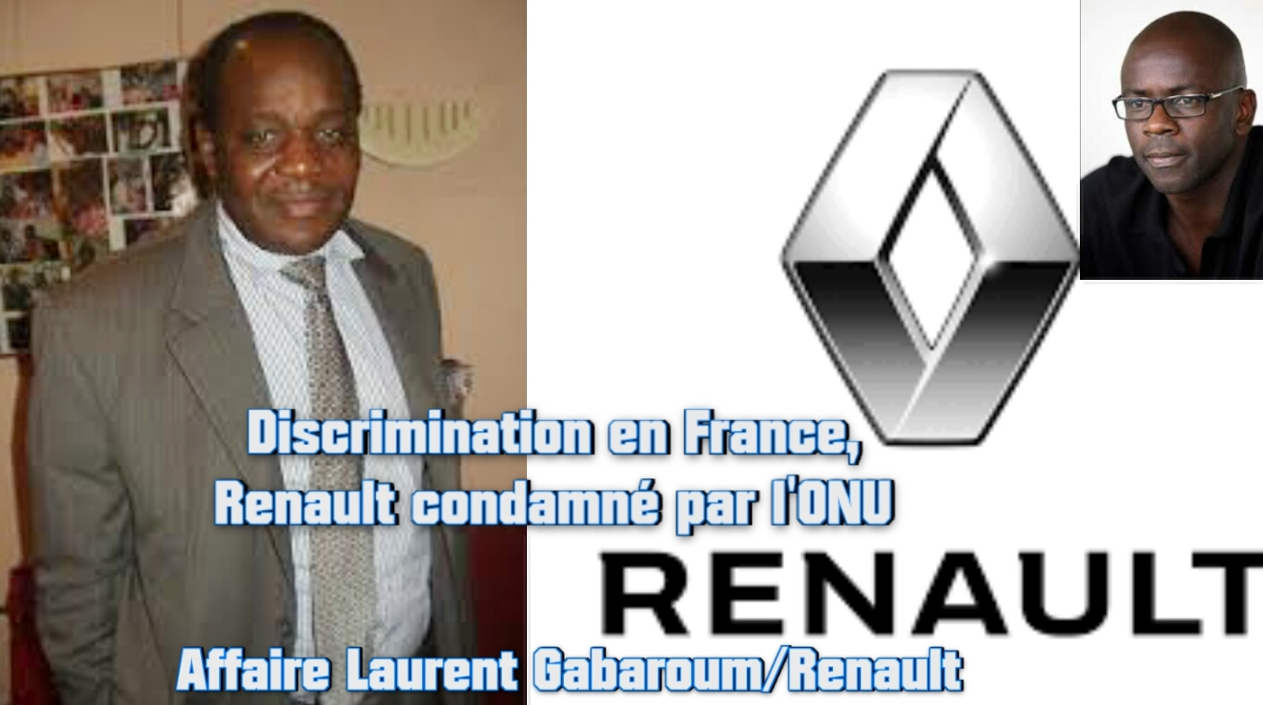 DISCRIMINATION en FRANCE: RENAULT CONDAMNE dans L'AFFAIRE CONTRE LAURENT GABAROUM