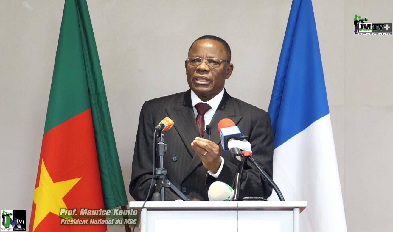 MAURICE KAMTO: CONFÉRENCE DE PRESSE  à PARIS  du 30 Jan 20, Partie 1