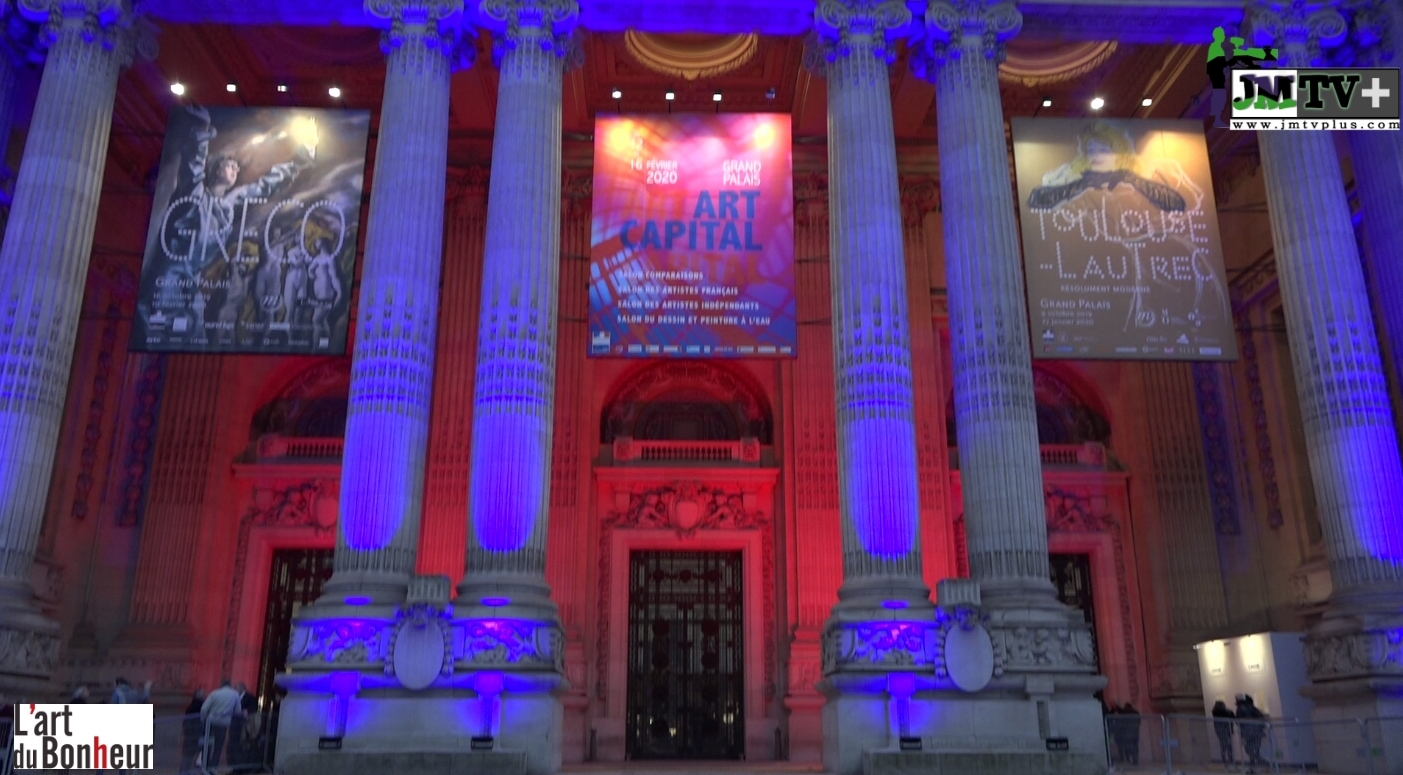 L'ART DU BONHEUR & JMTV+ VOUS PRÉSENTE «ART CAPITAL 2020»